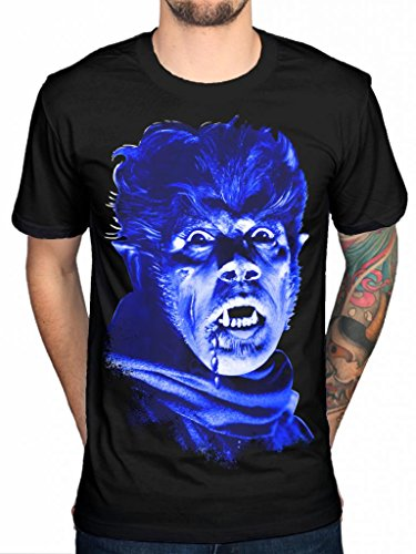 AWDIP Mens Official Blood On The Dance Floor Frankenstein and The Bride T-Shirt Music Rock Black