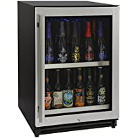 Kegco VSCB-24SSRN 24 Wide Undercounter Craft Beer Center Bomber Refrigerator