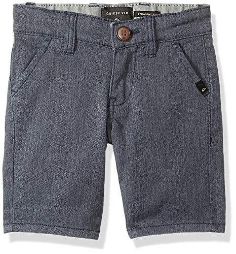 - Quiksilver Little Everyday Union Stretch AW BOY Walk Shorts, Navy Blazer Heather, 6
