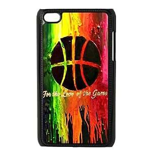 Clzpg Durable Ipod Touch 4 Case - Basketball diy case cover
