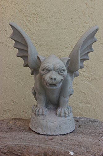 Cheap Winged Concrete Gargoyle Outdoor Garden Decor Sculpture Patio Gothic Medievel Guardian