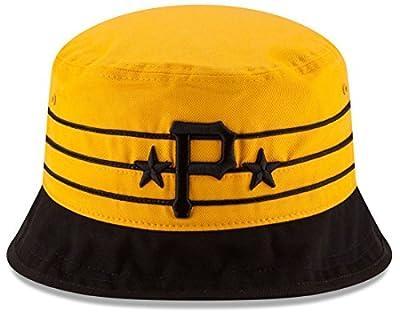 """Pittsburgh Pirates New Era MLB """"Wraparound"""" Performance Bucket Hat"""