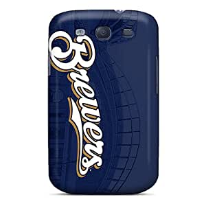 DhcvxBB1288 Case Cover Protector For Galaxy S3 Milwaukee Brewers Case