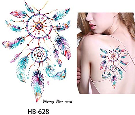 Atrapasueños Tatuaje Tatuajes Coloridos hb628 Tatuajes de flash ...