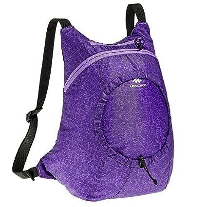 DECATHLON QUECHUA ARPENAZ ULTRALIGHT TREKKING mochila 15 día púrpura