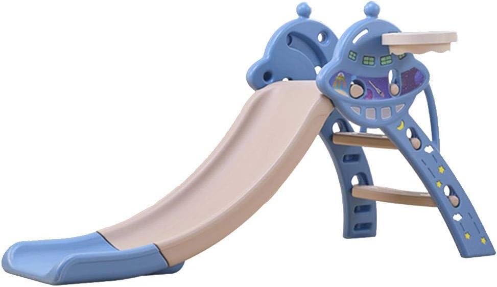 Diapositiva Toboganes para Niños Hogares Interiores Toboganes De Dibujos Animados Jardines De Infancia Juguetes Pequeños Plegables Alargados Y Engrosados (Color : Blue, Size : 145 * 60 * 80cm): Amazon.es: Hogar