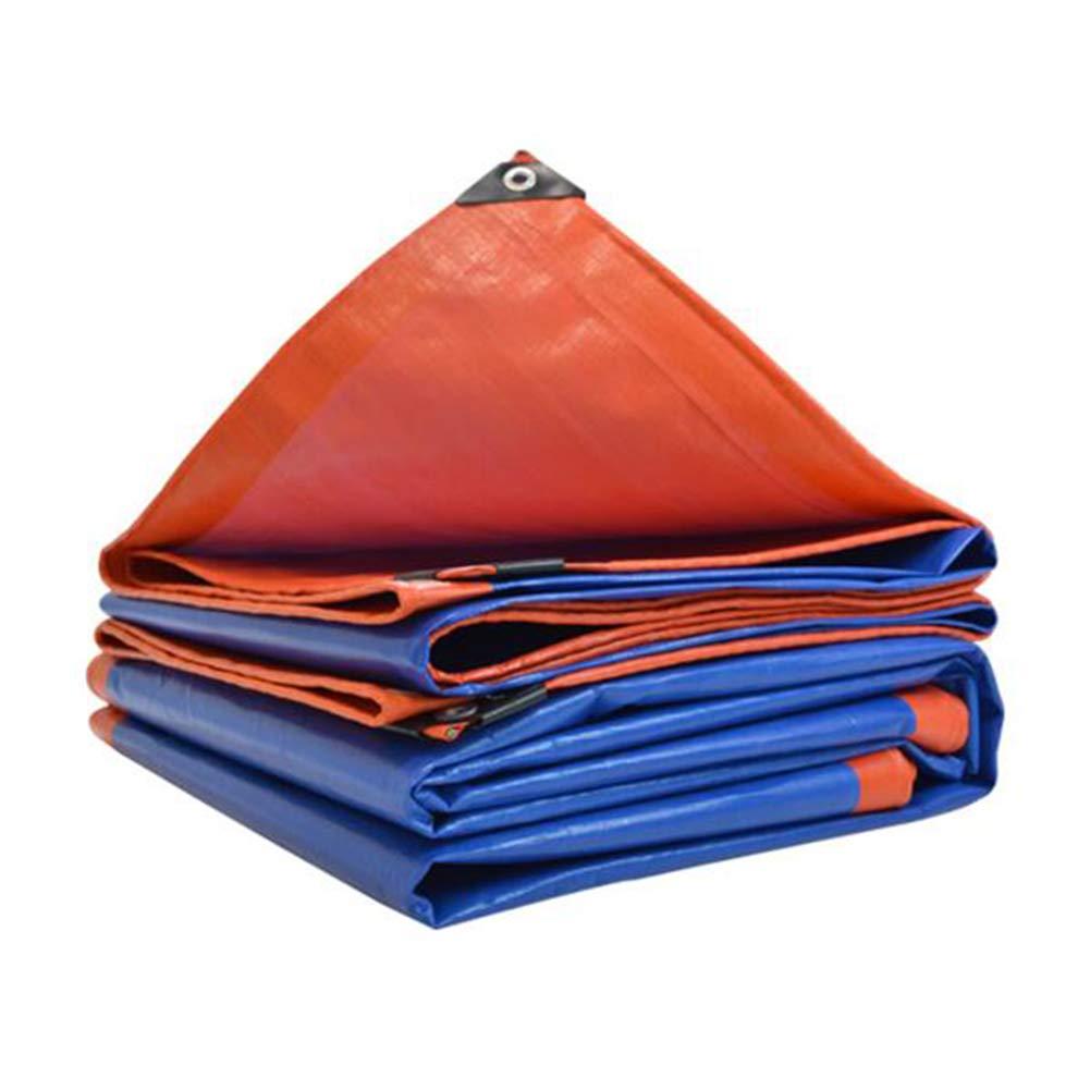 più economico Dall telone PE Panno di Pioggia Impermeabile Impermeabile Impermeabile Protezione Solare Magazzini All'aperto Campeggio (colore   Blu, Dimensioni   4×5m)  prezzo ragionevole