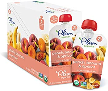 Plum Organics Stage 2 Baby Food 12-Packs: Extra 30% off + 5% off