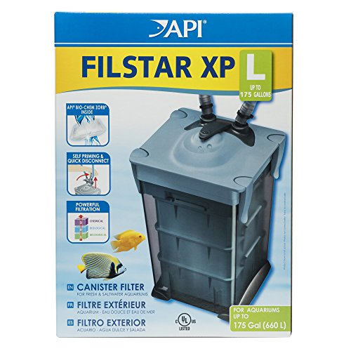 API FILSTAR XP FILTER SIZE L Aquarium Canister Filter 1-Count Box ()