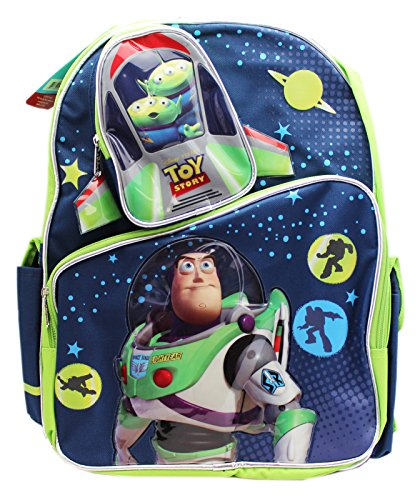 Price comparison product image Disney Pixar's Toy Story 3 Buzz Lightyear and Aliens Full Size Backpack (16in)