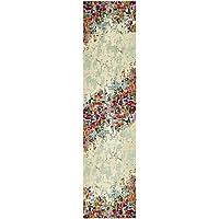 Unique Loom Spectrum Collection Multi 3 x 10 Runner Area Rug (2' 7' x 10')