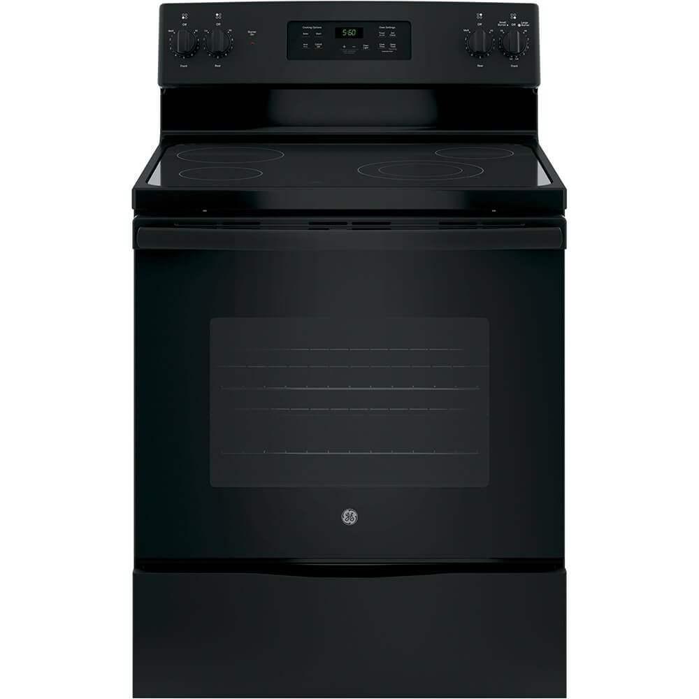 GE JBS60DKBB Electric Smoothtop Range Oven