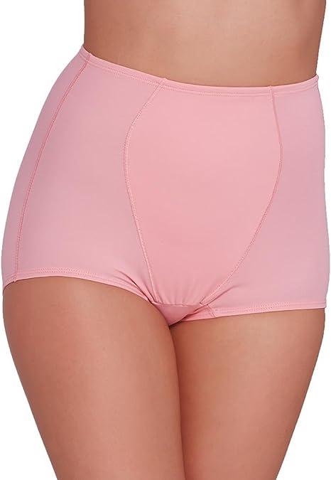 Womens Olga Brand Light Shaping Tummy Toner Briefs 2 Pair Pinks Size XL