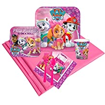 Pink Paw Patrol Girl Party Supplies - Party Pack for 8