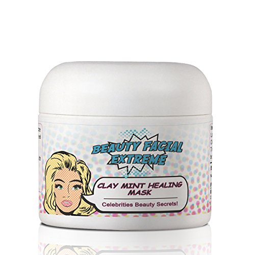 Facial Mask - Clay Mint Healing Mask and body muds are treatments to heal acne acne scars pimples blackheads eczema psoriasis & clearing acne for the face neck & decollete. Leaves your skin clear. Take care of your skin and look your best day and...