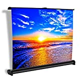 Projector Screen, Auledio Portable Manual Pull Down 50 - Best Reviews Guide
