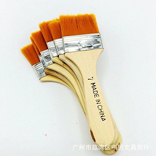 Myoffice ナイロンブラシ ペイントブラシ アート塗装 絵画 塗装ブラシ 多機能ブラシ 1個入りの商品画像