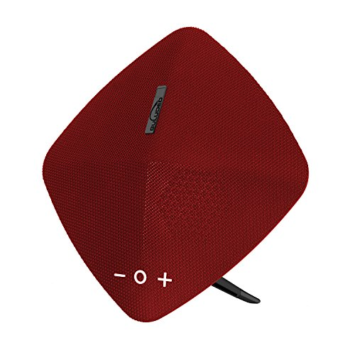 GULUDED Bluetooth Speaker:Louder Stereo Sound,24-Hour Playtime,IPx5 Water Resistant,100ft Wireless Range Built-in Mic and TF Card USB Disk Slot Perfect Wireless Speaker for Home Travel and Beach (red)