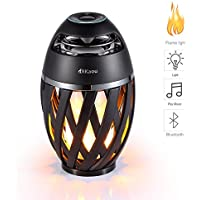 DIKAOU Led Flame Speaker, Torch Atmosphere Bluetooth...