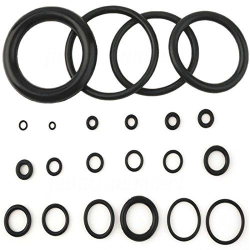SODIAL 495PCS 36 Tamanos O-ring Kit Negro y Verde Metrico O ring Seals Rubber O ring Juntas de resistencia al aceite 270pcs 225pcs