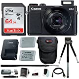 Canon Powershot G9 X Mark II Digital Camera with 64GB Card and Accessory Bundle