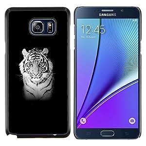 Stuss Case / Funda Carcasa protectora - MAJESTIC TIGRE BLANCO - Samsung Galaxy Note 5 5th N9200