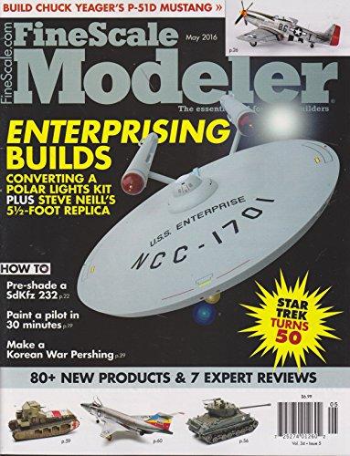 Fine Scale Modeler Magazine May 2016 (Fine Scale Modeler)