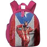 Children Pre School Backpack Boy&girl's Puerto Ricans Cultural Center Book Bag