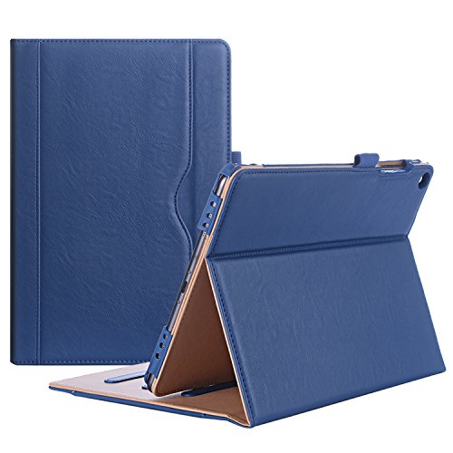 ProCase ASUS ZenPad 3S 10 9.7 Inch Case Z500M - Stand Cover Folio Case for ASUS ZenPad 3S 10 Tablet - Navy Blue