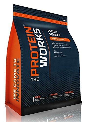 La proteínas Works – mezcla de proteínas papilla – sin gluten & bajo Gi copos de