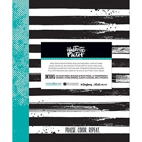 Bella BLVD Illustrated Faith Praise Book (3 Pack)]()