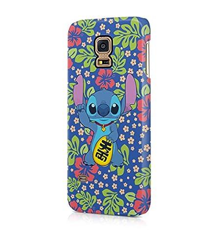 Lilo And Stitch Aloha Hawaii Hard Plastic Snap-On Case Cover For Samsung Galaxy S5 Mini (Samsung Galaxy S5 Cases Hawaii)