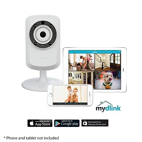 D-Link Day & Night Wi-Fi Camera with Remote Viewing (DCS-932L)