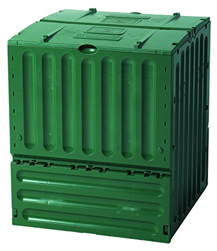 Exaco 627003 Small Eco-King Polypropylene Composter, 110-Gallon, Green