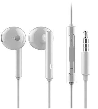e9d525d63de Original Huawei Headset in White for Huawei P9 - Plus Earphones with Volume  Control & Micro