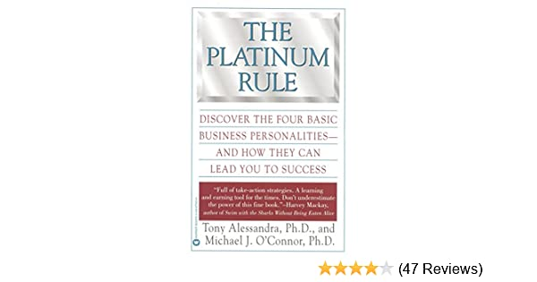 platinum rule personality test free