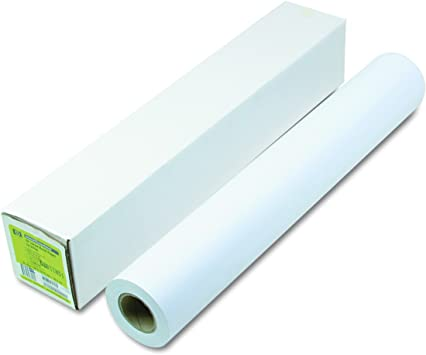 6.6 mil 42 x 225 ft White HP Q1956A Designjet Inkjet Large Format Paper
