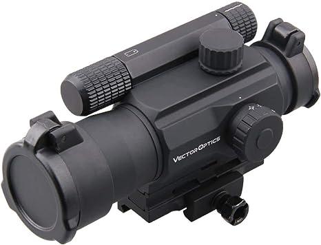 Vector Optics Reddot Rotpunkt Visier Tempest 1x35 Zieloptik Mit Picatinny Weaver Rail Montage Sport Freizeit