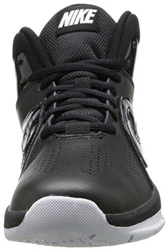 Schwarz Team Black Basket per D da Nike bambini Scarpe white e 6 Hustle Black Nero ragazzi Gs OBnqgFw
