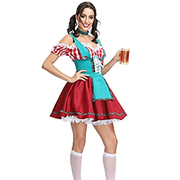 Unexceptionable-Costume Carnival Oktoberfest Beer Dirndl ...