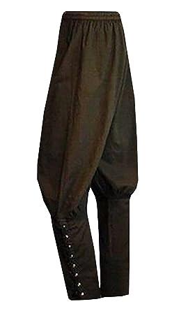 d6d2d22af064 Meilidress Men's Ankle Banded Pants Medieval Viking Navigator Trousers  Renaissance Pants (Small, Army Green