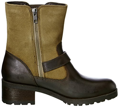 Eastland Brown Women's Bomber Boot Belmont r0xrqO6