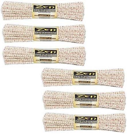 Zen Bundles Zen Pipe Cleaners Hard Bristle Value Pack,176 Count 4x 44 Count