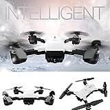Christmas Drone, Leewa YH-19HW Wifi FPV Camera Foldable 2.4G 6-Axis Selfie Quadcopter Drone Toys (White - 2.0MP)