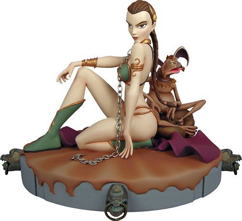 Gentle Giant Maquettes - Star Wars [ Animated ] - Maquette Princess Leia ( Java Sureivu Version) by Gentle Giant