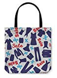 Gear New Shoulder Tote Hand Bag, Pattern For Clearance, 16x16, 816536GN
