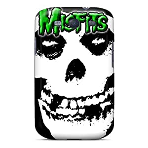 Anti-Scratch Hard Phone Covers For Samsung Galaxy S3 With Custom High-definition Green Misfits Pictures LeoSwiech