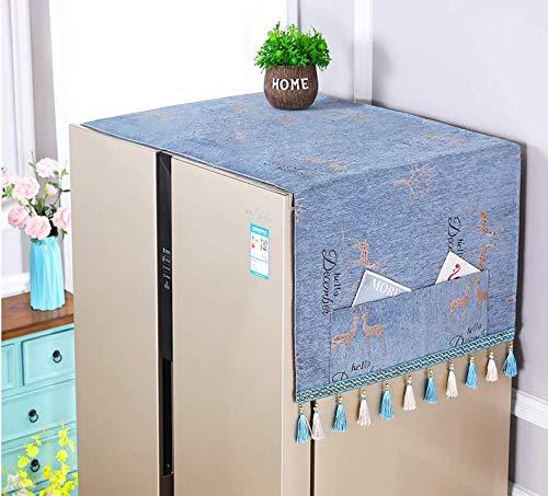 ZDDT Doble Puerta de la Puerta del refrigerador del refrigerador de ...