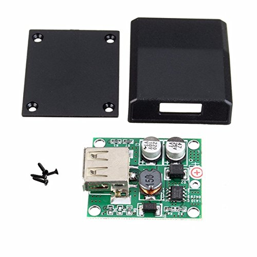 DIY 5V 2A Voltage Regulator Junction Box Solar Panel Charger Special Kit BMart BM00001