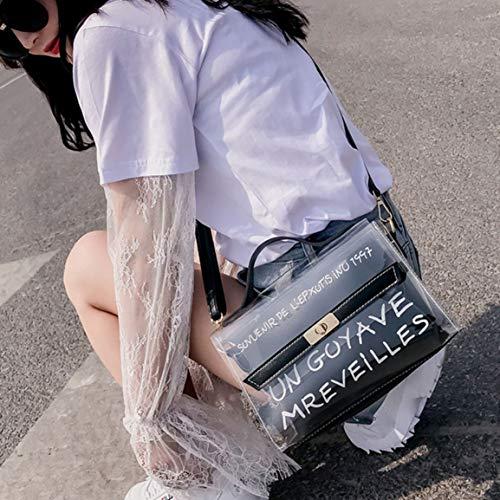 Sac Simple Bandoulière Fantasyworld Élégant À Transparent Populaire Pvc Voyage Sacs Dating Party Mode Style Pour Femme 4FxxSYqEw